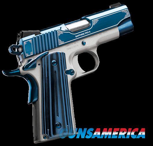 Kimber Sapphire Pro II 9mm  Guns > Pistols > Kimber of America Pistols > 1911