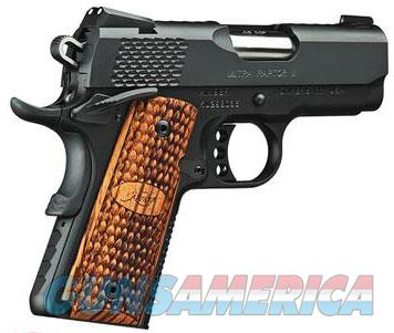 Kimber Ultra Raptor II .45acp Blued Scale Grips  Guns > Pistols > Kimber of America Pistols > Micro