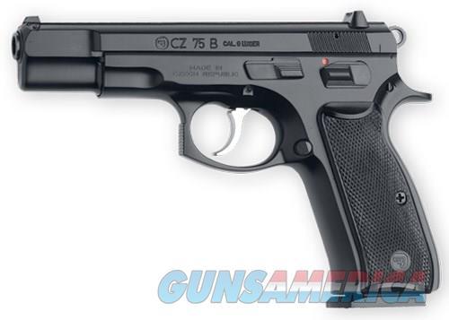 CZ 75 B 9mm 4.6in 16rd Black  Guns > Pistols > CZ Pistols