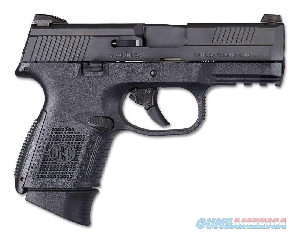 FN FNS-9C Pistol 9mm 3.6 in. Black 12 rd.  Guns > Pistols > FNH - Fabrique Nationale (FN) Pistols > FNS