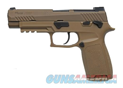 Sig Sauer P320 9mm 4.7in M17 Coyote  Guns > Pistols > Sig - Sauer/Sigarms Pistols > P320
