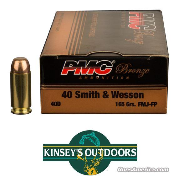 PMC 40 S&W 165 FMJ  Non-Guns > Ammunition