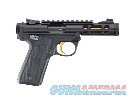 Ruger Mark IV .22Lr 4.4in Black Anodized  Guns > Pistols > Ruger Semi-Auto Pistols > Mark I/II/III/IV Family