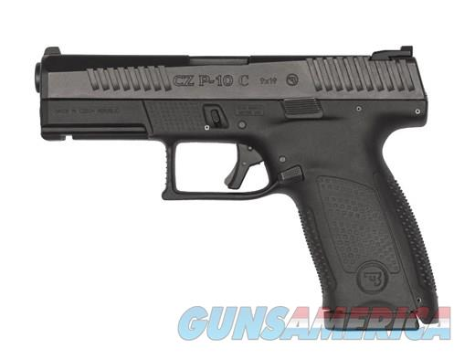 CZ P-10 C 9mm 4in 15rd Black  Guns > Pistols > CZ Pistols