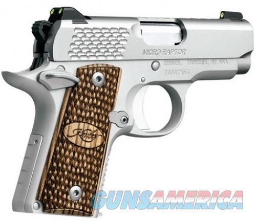 Kimber Micro 9 Raptor 9mm Stainless  Guns > Pistols > Kimber of America Pistols > Micro 9