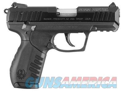 Ruger SR22 .22LR Black 3.5in  Guns