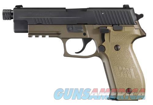 Sig Sauer P226 Combat 9mm FDE Threaded Barrel  Guns > Pistols > Sig - Sauer/Sigarms Pistols > P226