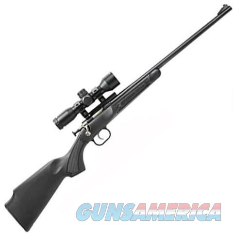 Crickett Rifle .22lr Package Black with Scope   Guns > Rifles > Crickett-Keystone Rifles