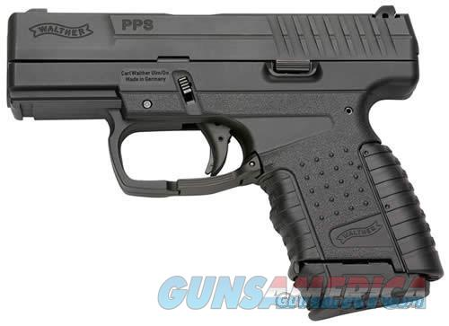 Walther PPS 9mm 3.2in Black  Guns