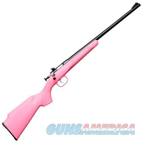 Keystone Crickett .22Lr Pink Synthetic  Guns > Rifles > Crickett-Keystone Rifles
