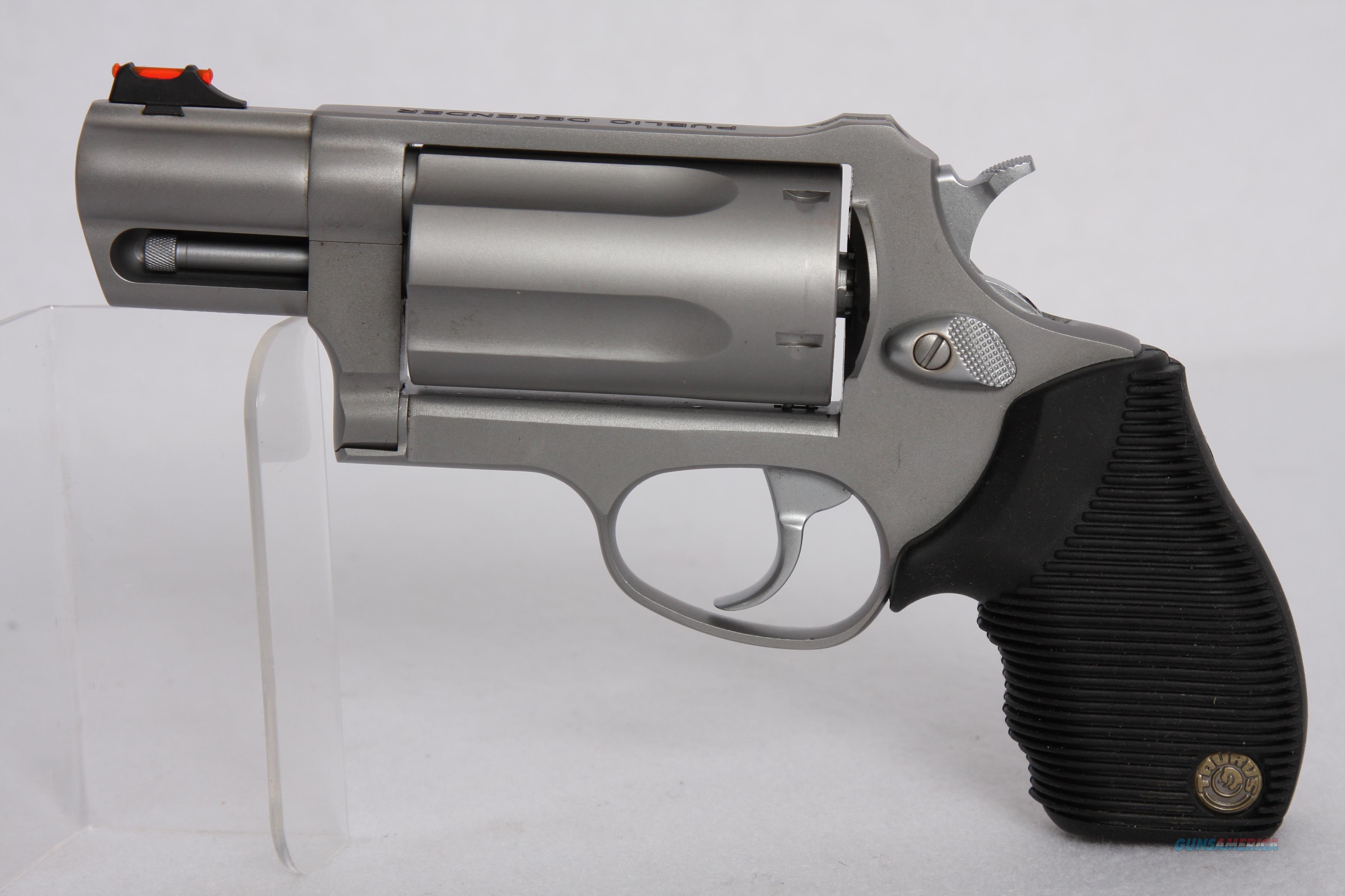 Taurus Judge Public Defender 2.5in SS  Guns > Pistols > Taurus Pistols > Revolvers
