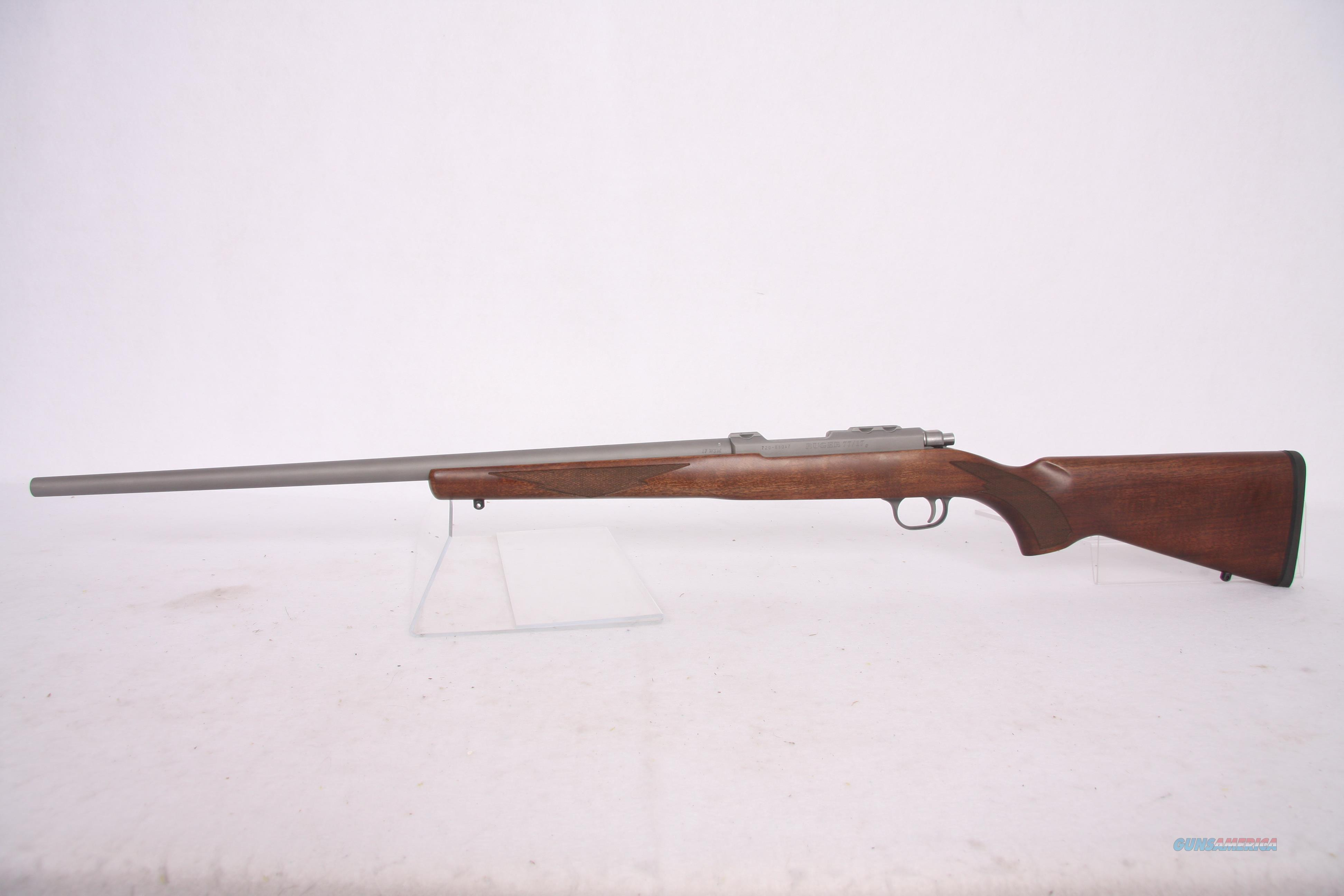 Ruger 77/17 Rifle .17WSM SS Walnut 24in  Guns > Rifles > Ruger Rifles > Model 77