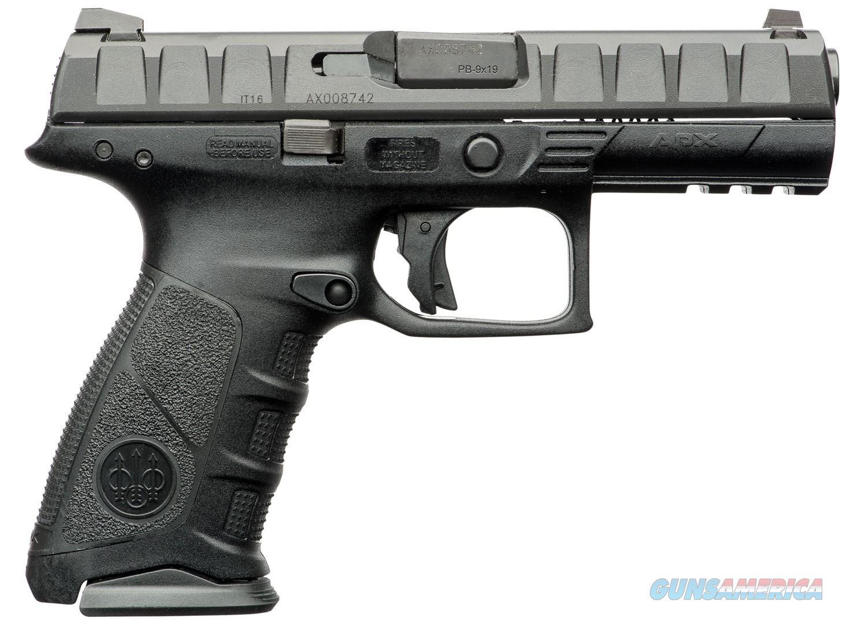 Beretta APX 9mm 4.25in Black 17rd  Guns > Pistols > Beretta Pistols > Polymer Frame