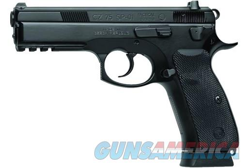 CZ 75 SP-01 Tactical 9mm 4.6in 18rd Black  Guns > Pistols > CZ Pistols