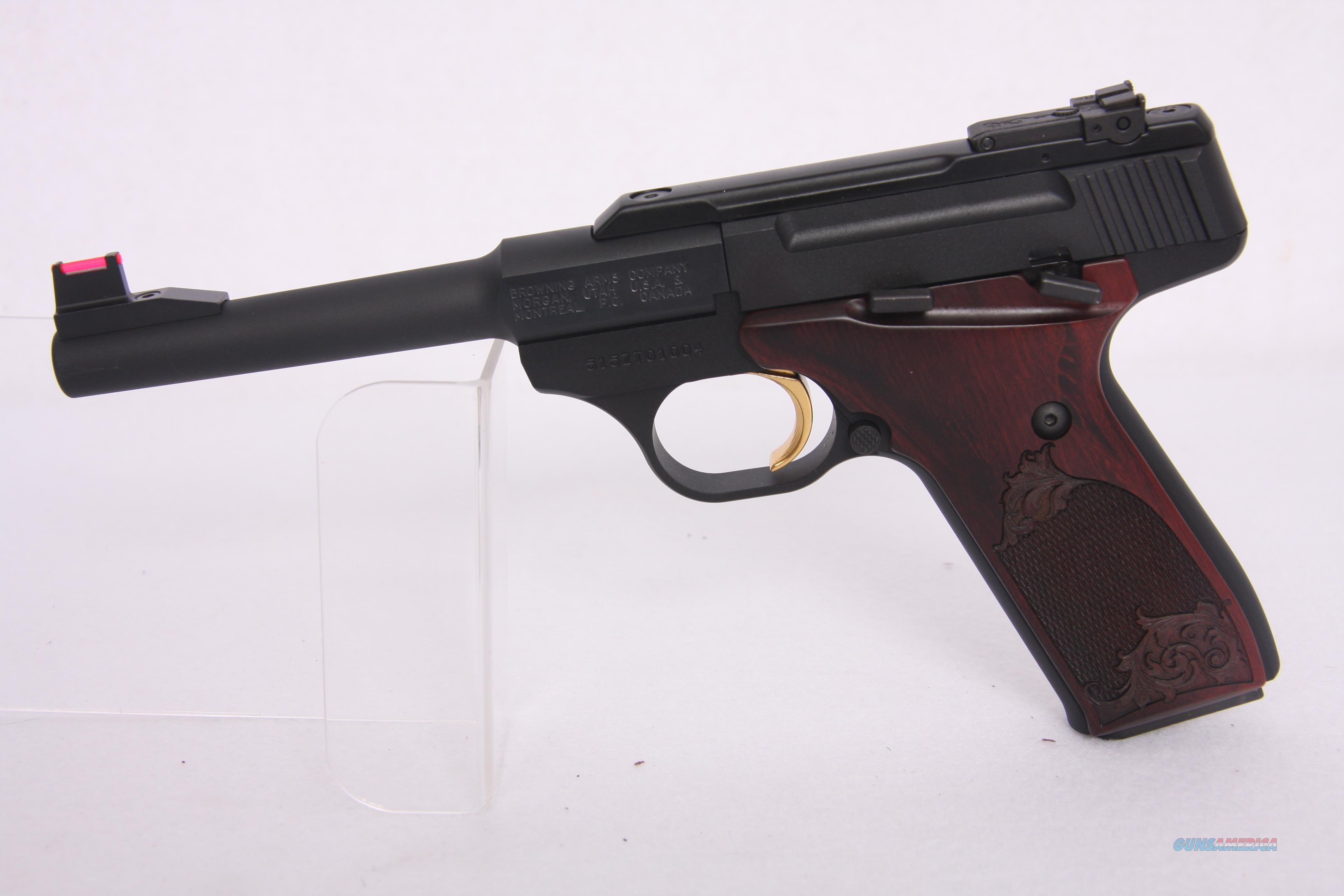 Browning Buck Mark Challenge Rosewood .22Lr 5.5in  Guns > Pistols > Browning Pistols > Buckmark