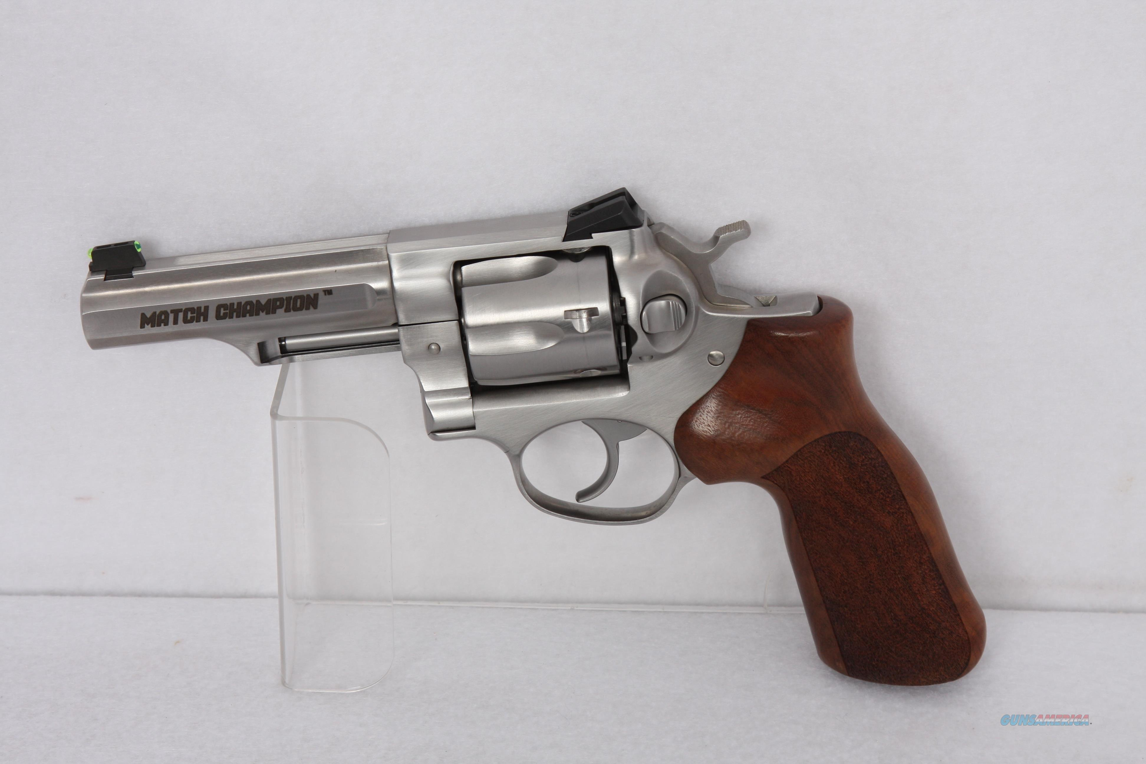 Ruger GP100 .357mag SS 4.2 Match Champ  Guns > Pistols > Ruger Double Action Revolver > GP100