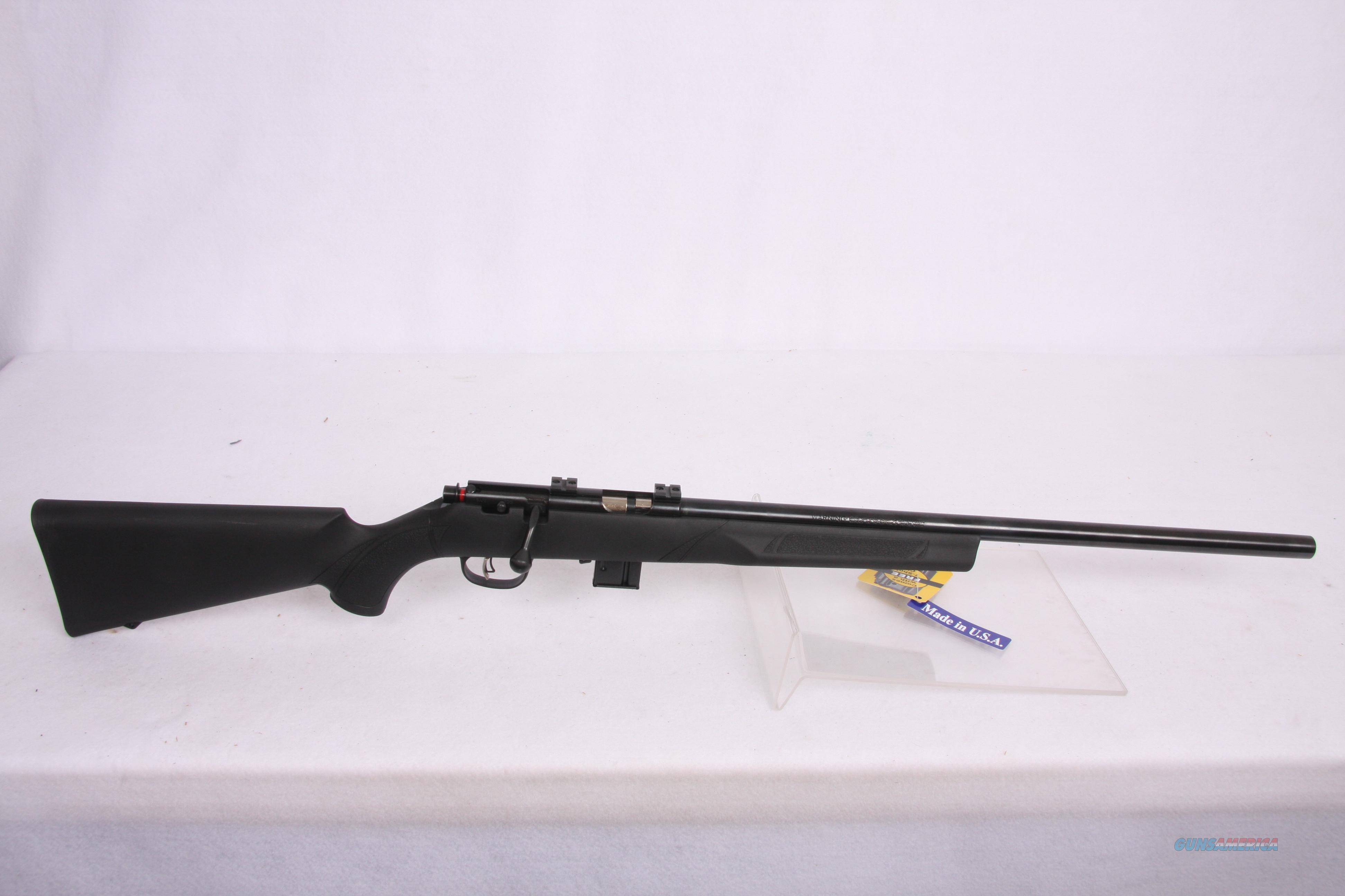 Marlin ST17Vr. .17HMR Blk Syn  Guns > Rifles > Marlin Rifles > Modern > Bolt/Pump