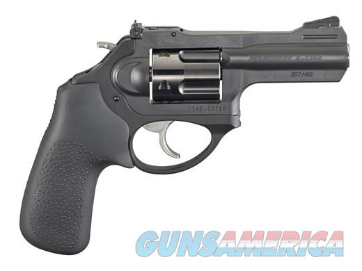 Ruger LCRX .357mag Black 3in Hogue Grip  Guns > Pistols > Ruger Double Action Revolver > LCR