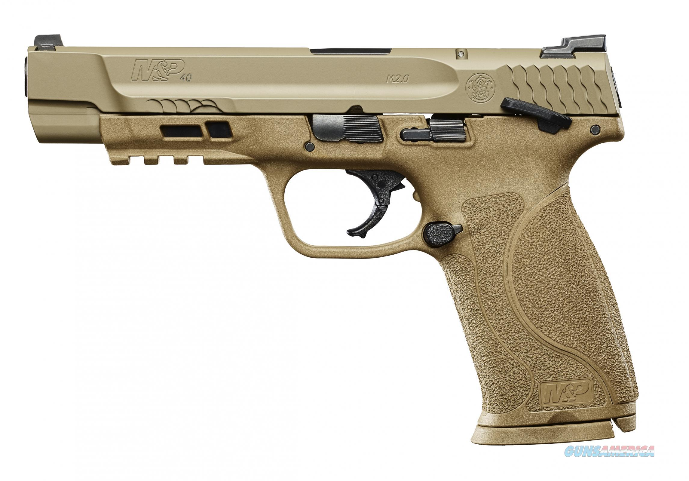 SW MP M2 40sw 5in FDE 15rd  Guns > Pistols > Smith & Wesson Pistols - Autos > Polymer Frame