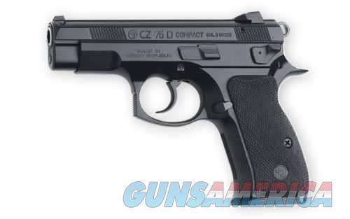 CZ 75 D 9mm Compact 3.8 inBlack 14rd  Guns > Pistols > CZ Pistols