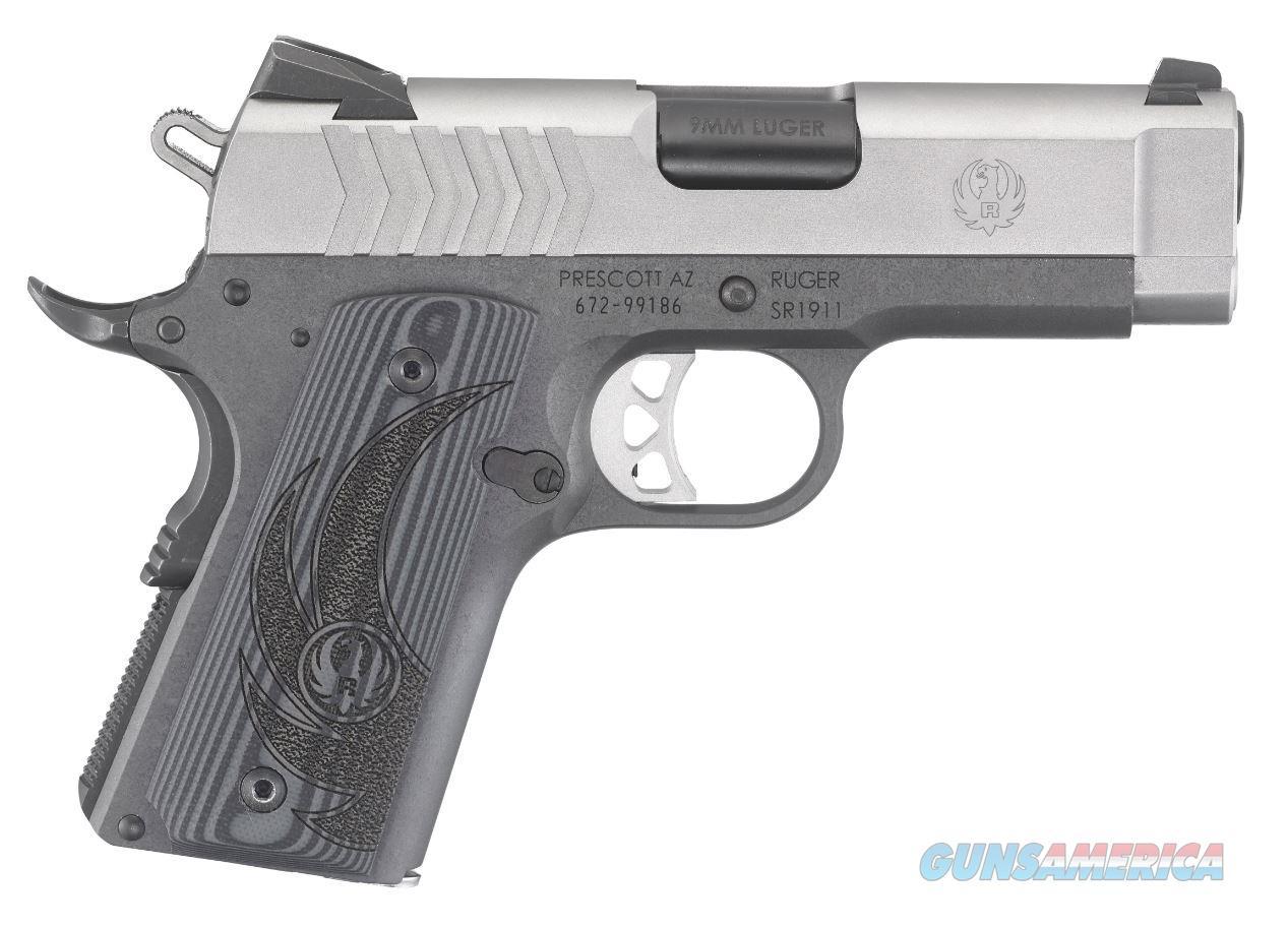 Ruger SR1911 Pistol 9mm 3.6 in. 8 rds.  Guns > Pistols > Ruger Semi-Auto Pistols > 1911
