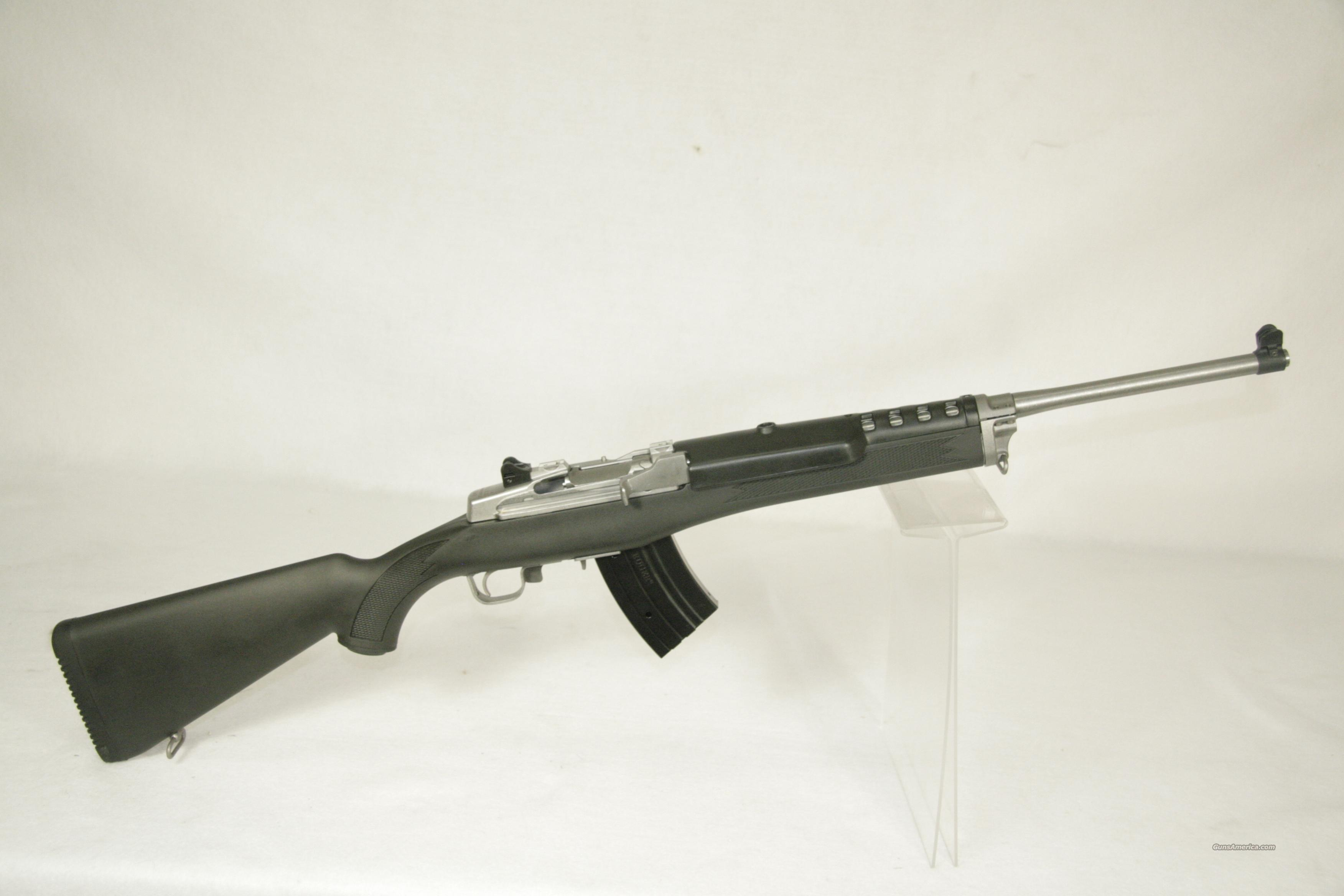 Ruger Mini-30 7.62x39mm W/2Mag/ScopeBase/Rings  Guns > Rifles > Ruger Rifles > Mini-14 Type