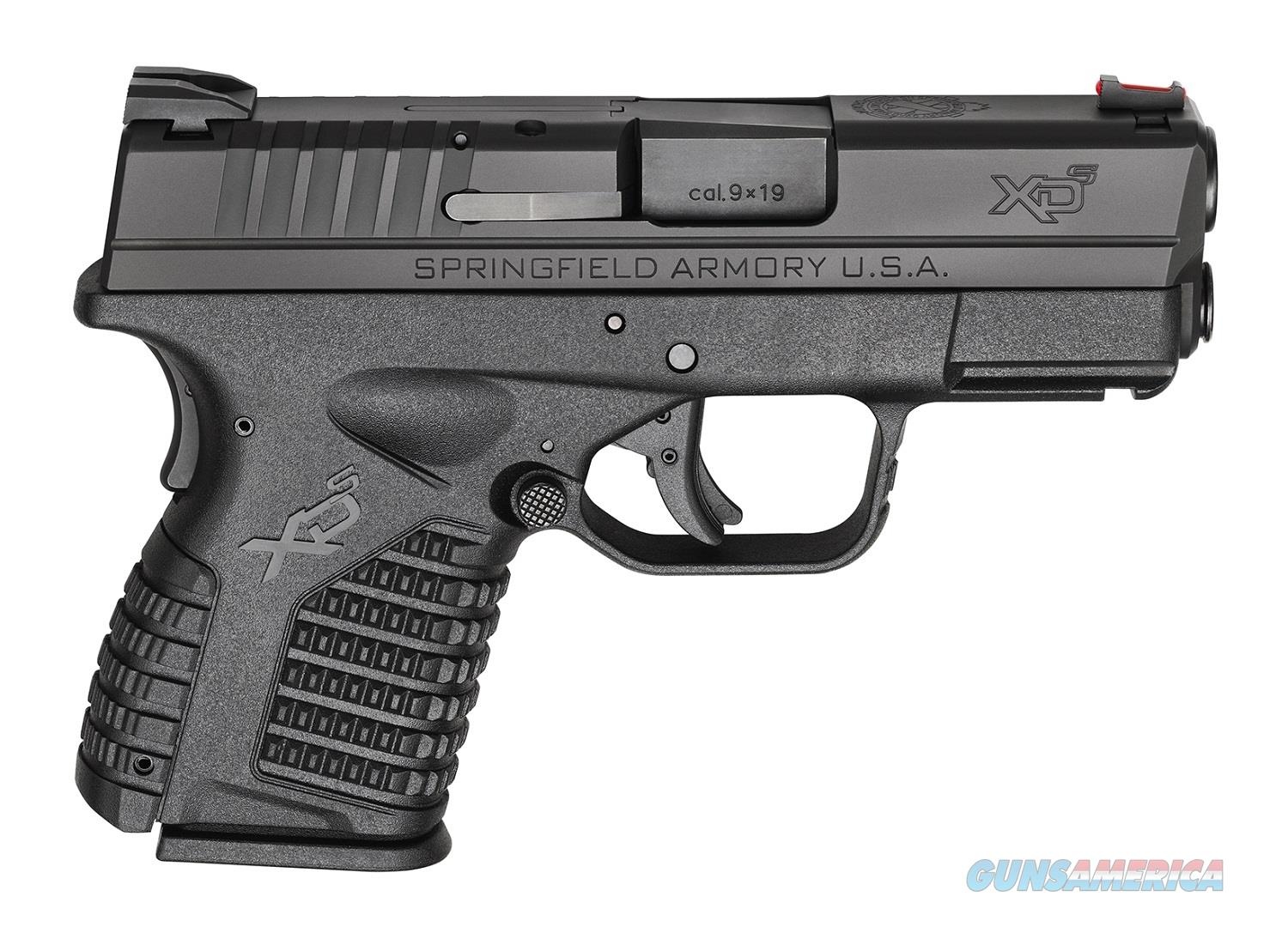 Springfield XDS 9mm 3.3 inch Barrel With Crimson Trace   Guns > Pistols > Springfield Armory Pistols > XD-S
