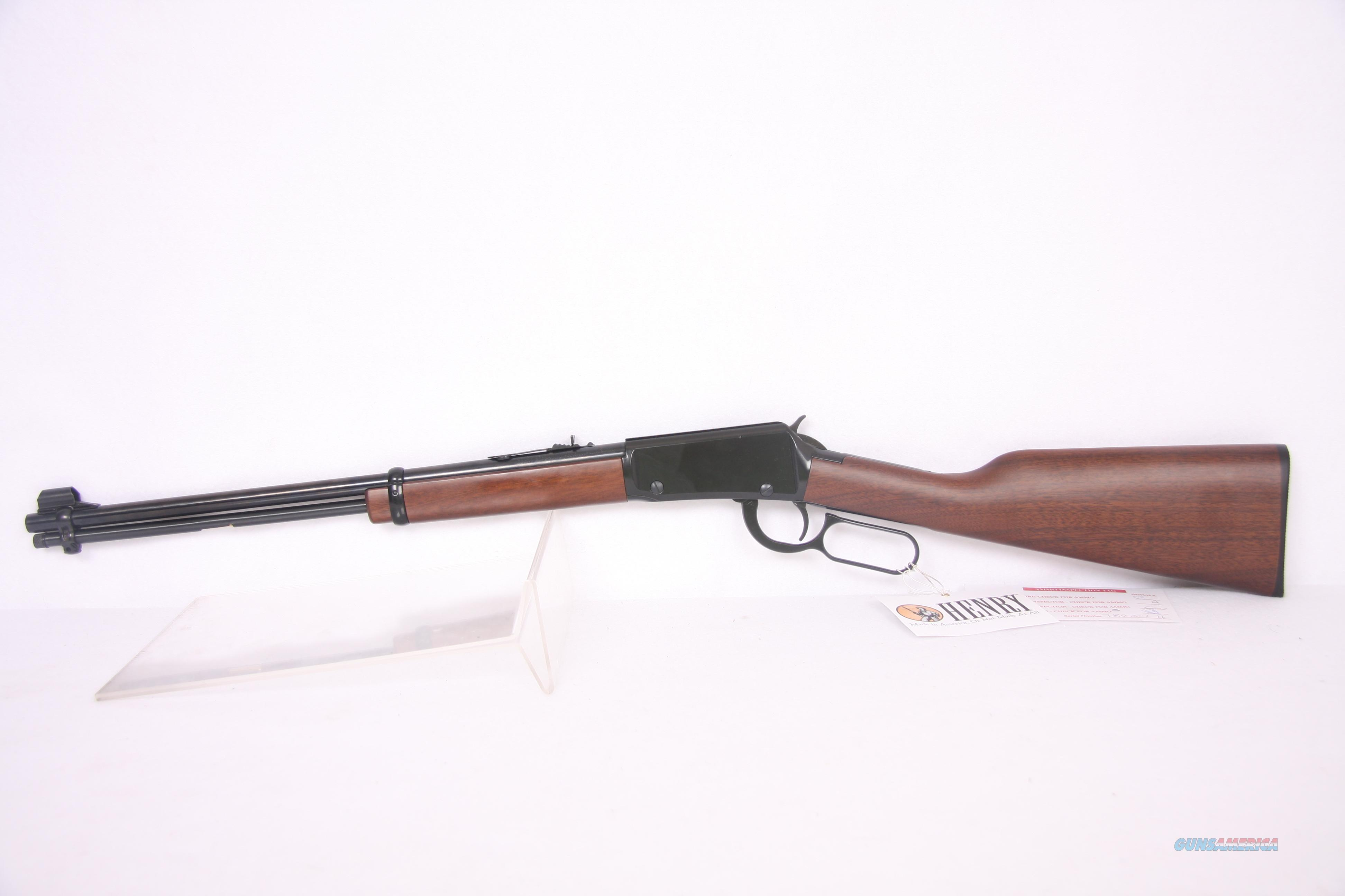 Henry Lever Action .22 Lr Blue Wood  Guns > Rifles > Henry Rifle Company