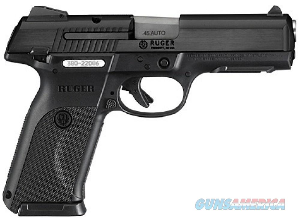 Ruger SR45 .45acp Black  Guns