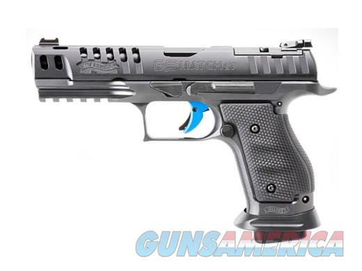 Walther PPQ M2 Q5 Pro  9mm 5in 17rds Black  Guns > Pistols > Walther Pistols > Post WWII > P99/PPQ