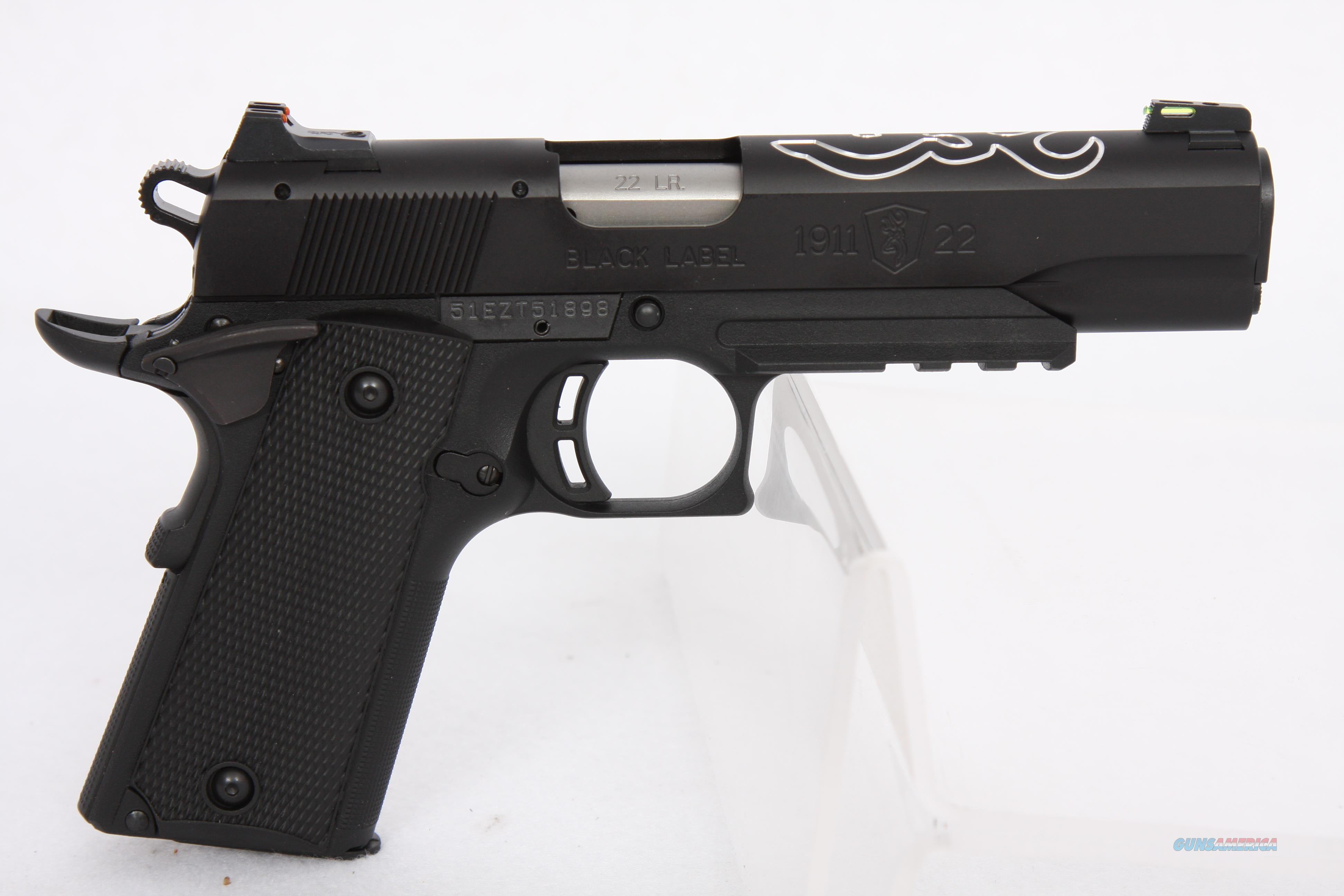 Browning 1911-22 Black Lite .22Lr   Guns > Pistols > Browning Pistols > Other Autos