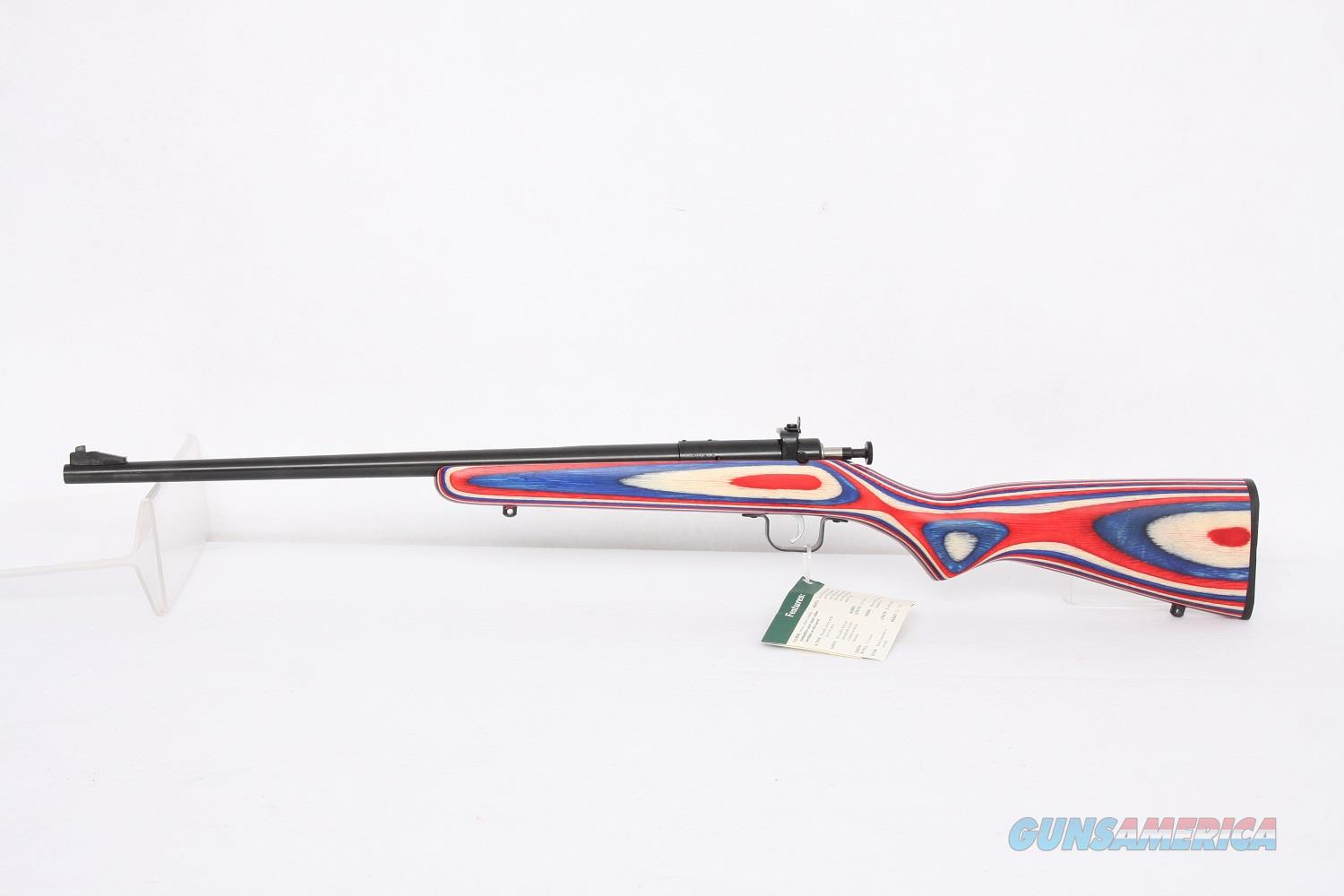 Keystone Crickett  .22Lr Red White Blue Laminate  Guns > Rifles > Crickett-Keystone Rifles