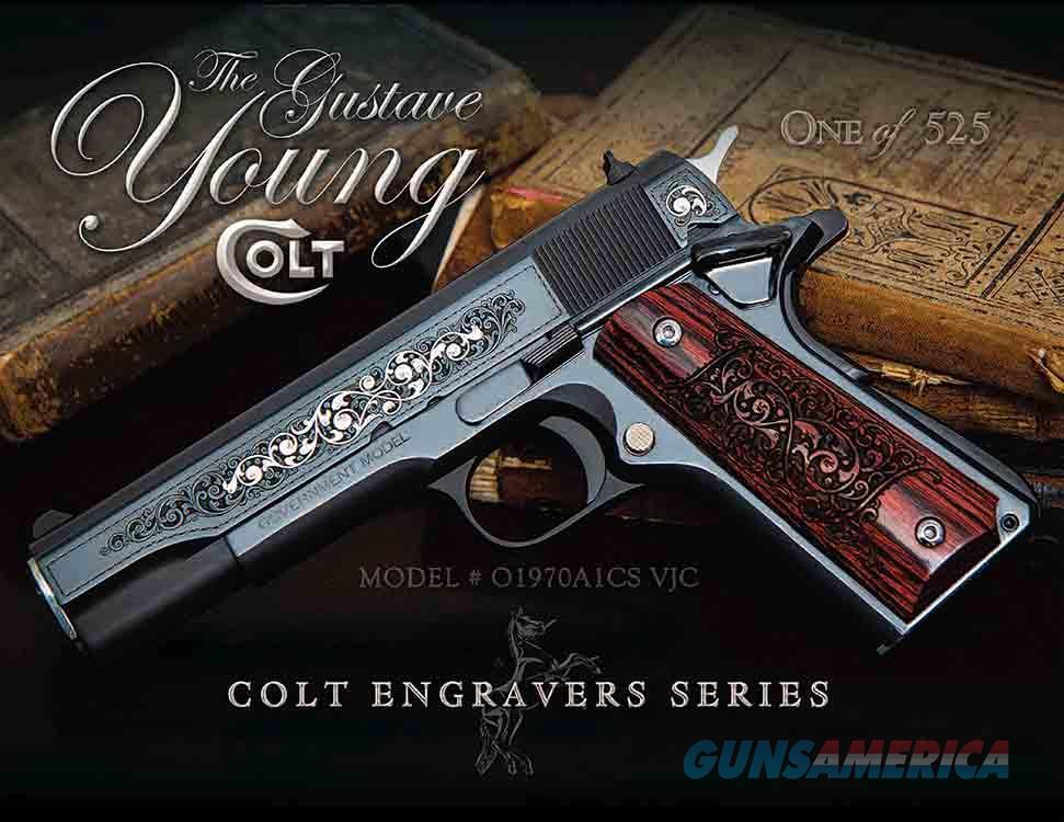 """Colt 1911 Series 70 Gustave Young Pistol 45 ACP 5""""  Guns > Pistols > Colt Automatic Pistols (1911 & Var)"""