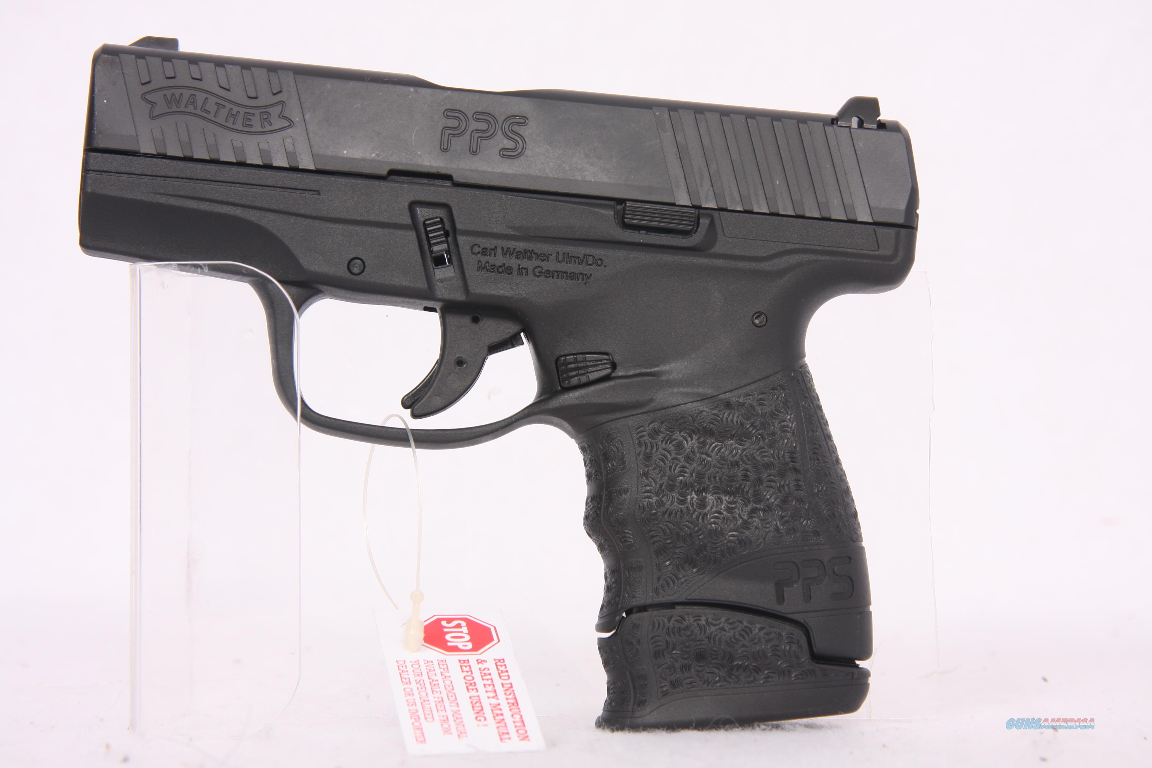 Walther PPS M2 9mm 3.2in Black  Guns > Pistols > Walther Pistols > Post WWII > PPS