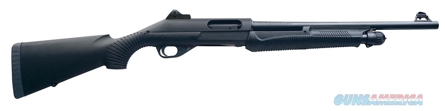Benelli Nova Tactical 12g 18.5in Black Ghost Ring Sight  Guns > Shotguns > Benelli Shotguns > Tactical