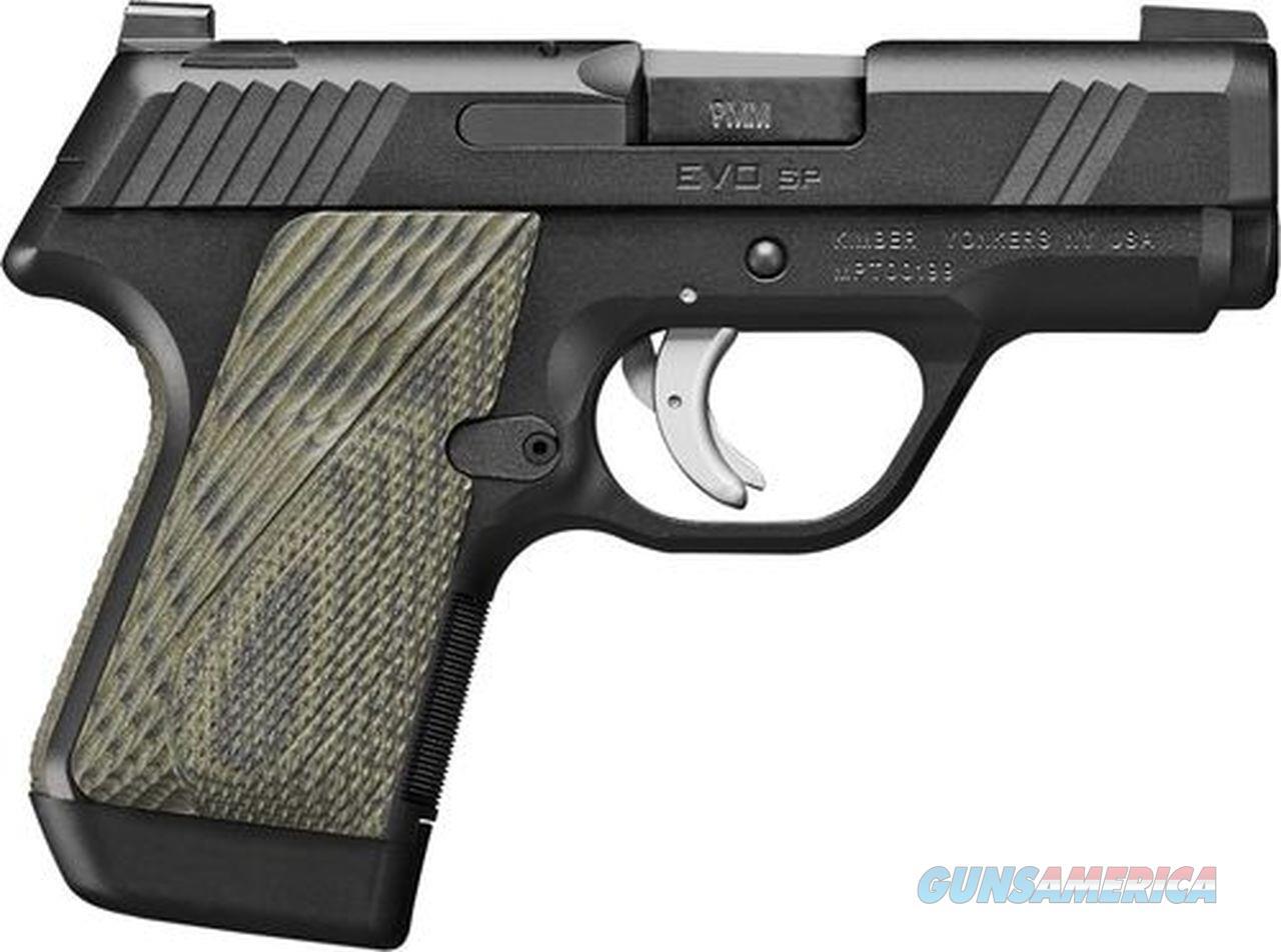 Kimber EVO SP 9mm TLE 3.16in Black  Guns > Pistols > Kimber of America Pistols > EVO SP