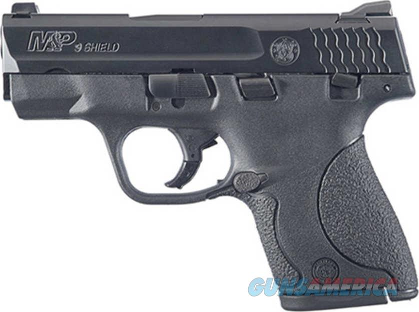 Smith and Wesson Shield 9mm 3.1in Black  Guns