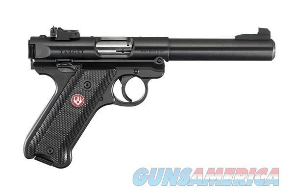 Ruger Mark IV .22Lr 5.5in Black  Guns > Pistols > Ruger Semi-Auto Pistols > 22/45