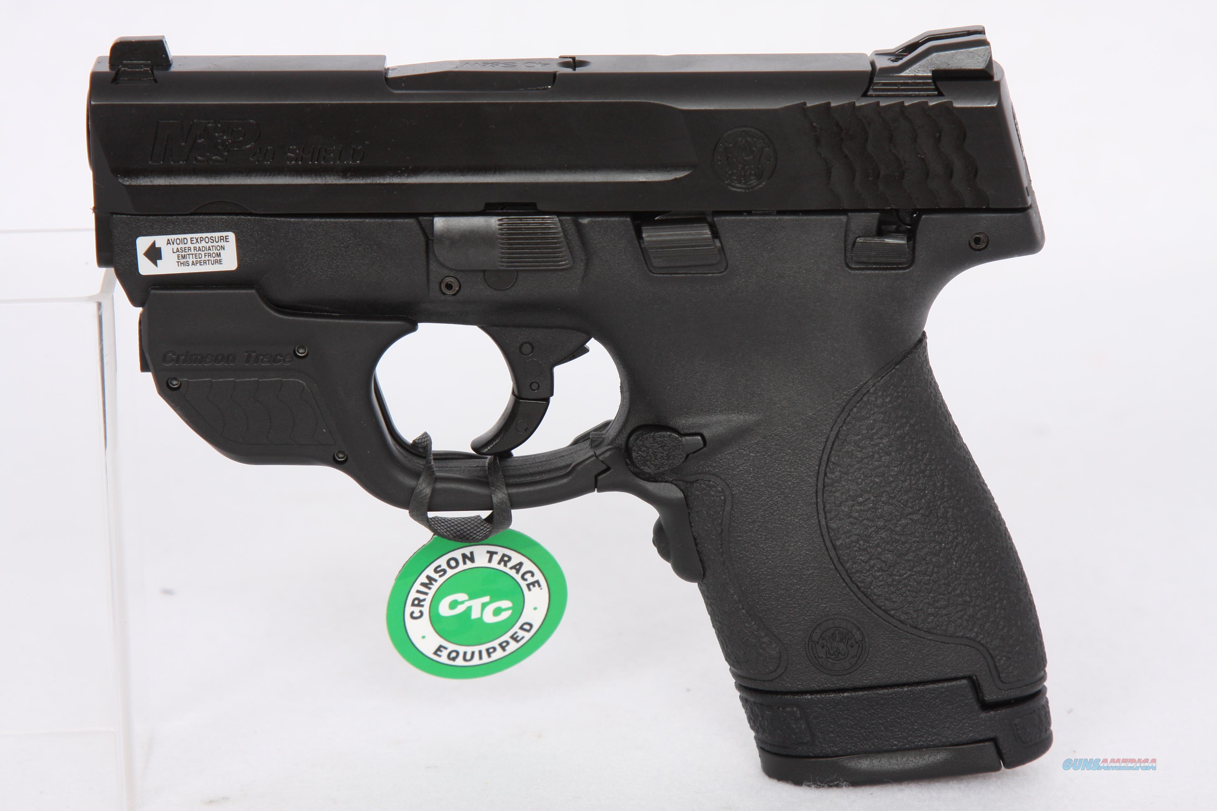 Smith & Wesson M&P40 Shield .40S&W 3.1in Green CTC  Guns > Pistols > Smith & Wesson Pistols - Autos > Shield