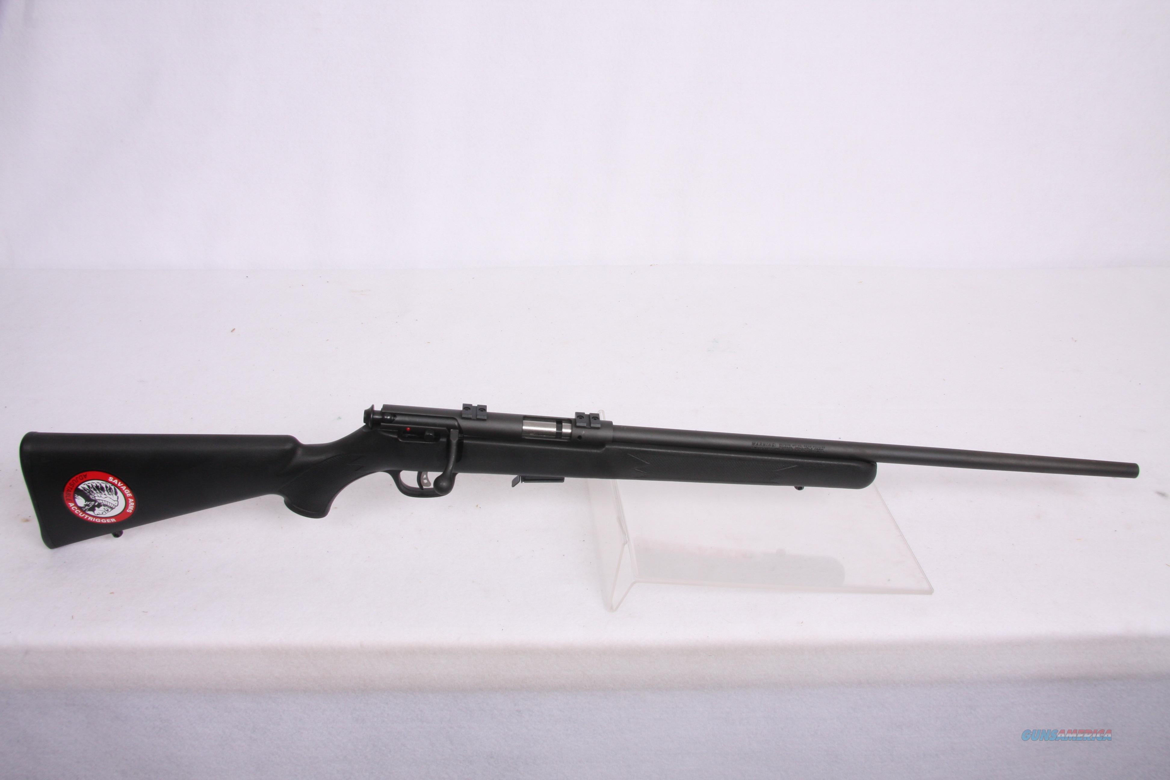 Savage 93R17 .17 Blk Syn  Guns > Rifles > Savage Rifles > Standard Bolt Action > Sporting