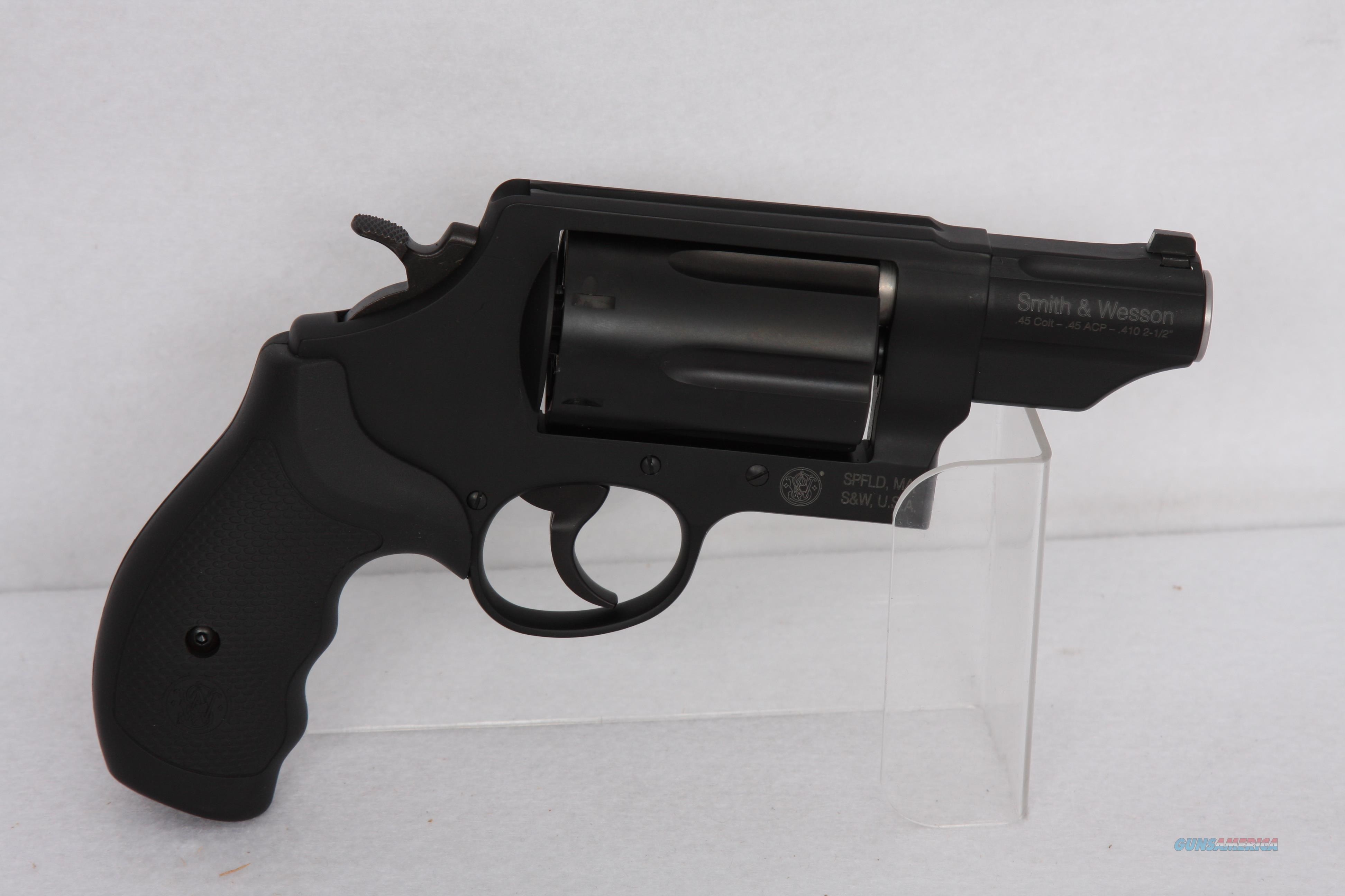 S&W Governor 45LC .410 45ACP  Guns > Pistols > Smith & Wesson Revolvers > Med. Frame ( K/L )