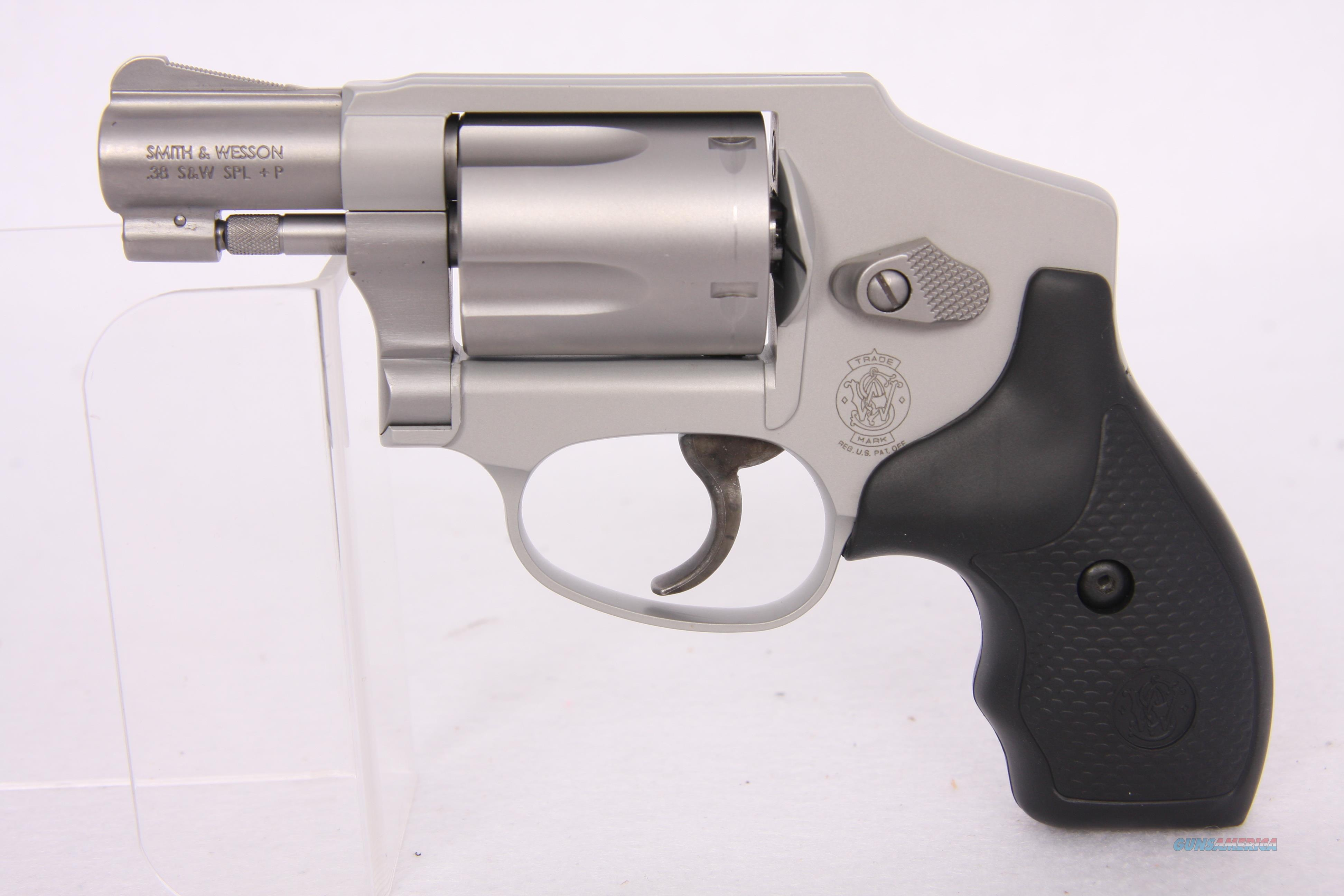 S&W 642 .38Spl SS 5rd 1.875IN  Guns > Pistols > Smith & Wesson Revolvers > Pocket Pistols