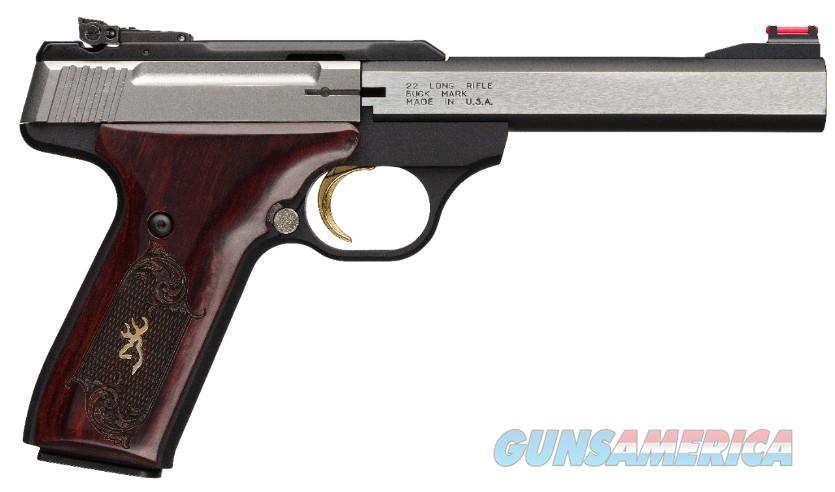 Browning Buck Mark Medallion .22Lr 5.5in  Guns > Pistols > Browning Pistols > Buckmark