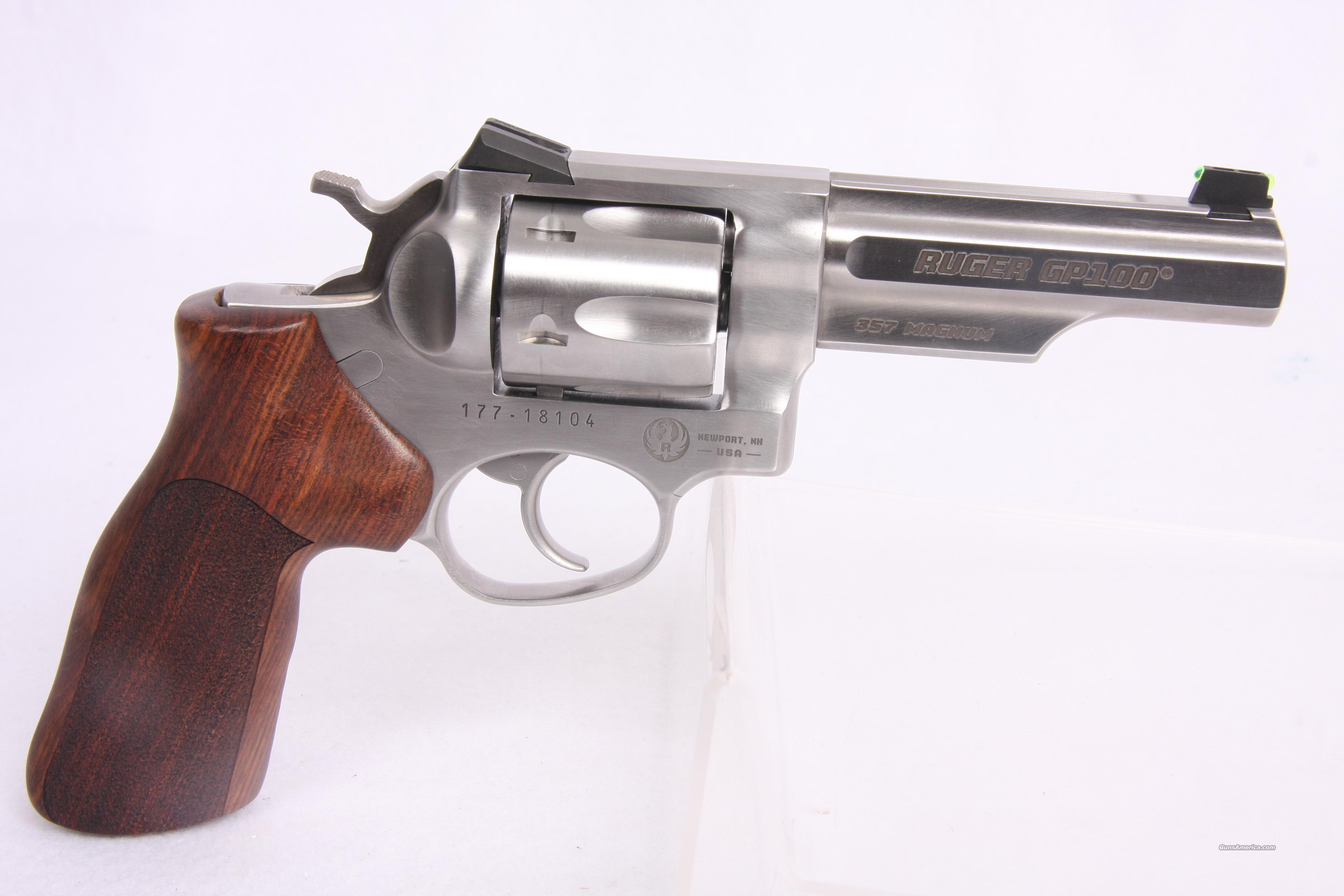 Ruger GP 100 .357Mag SS 4.2  Guns > Pistols > Ruger Double Action Revolver > SP101 Type