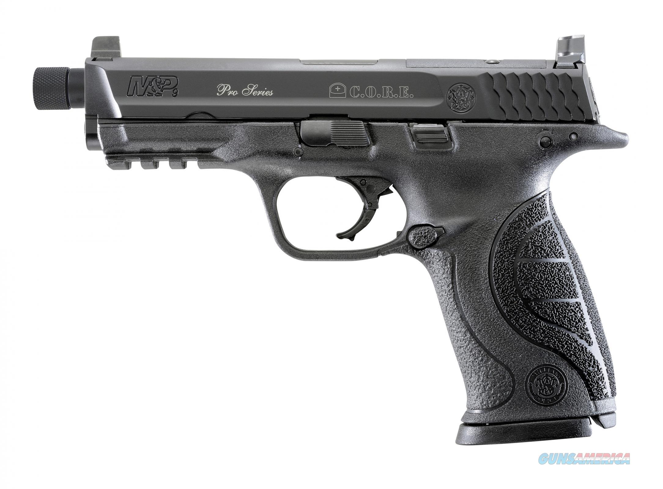 Smith and Wesson Pro MP C.O.R.E. 9mm 4.3in Two Barrel Set Sale  Guns > Pistols > Smith & Wesson Pistols - Autos > Polymer Frame