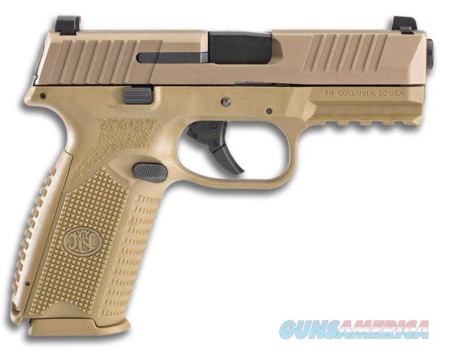 FN 509 Full FDE Pistol 9mm 4 in. Flat Dark Earth 17 rd.  Guns > Pistols > FNH - Fabrique Nationale (FN) Pistols > FN 509