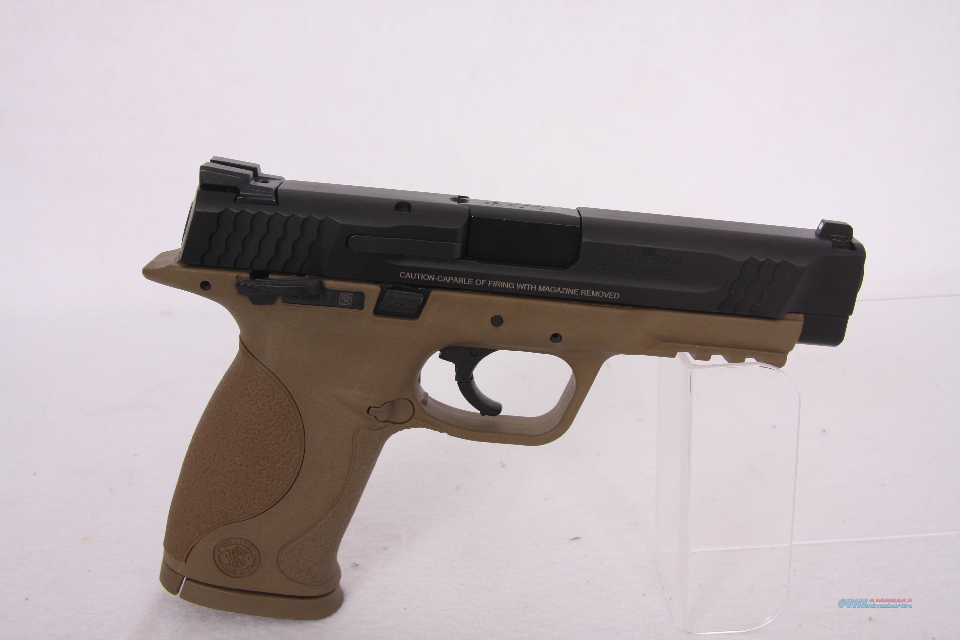 SW MP .45acp 4.5in Tan  Guns > Pistols > Smith & Wesson Pistols - Autos > Polymer Frame