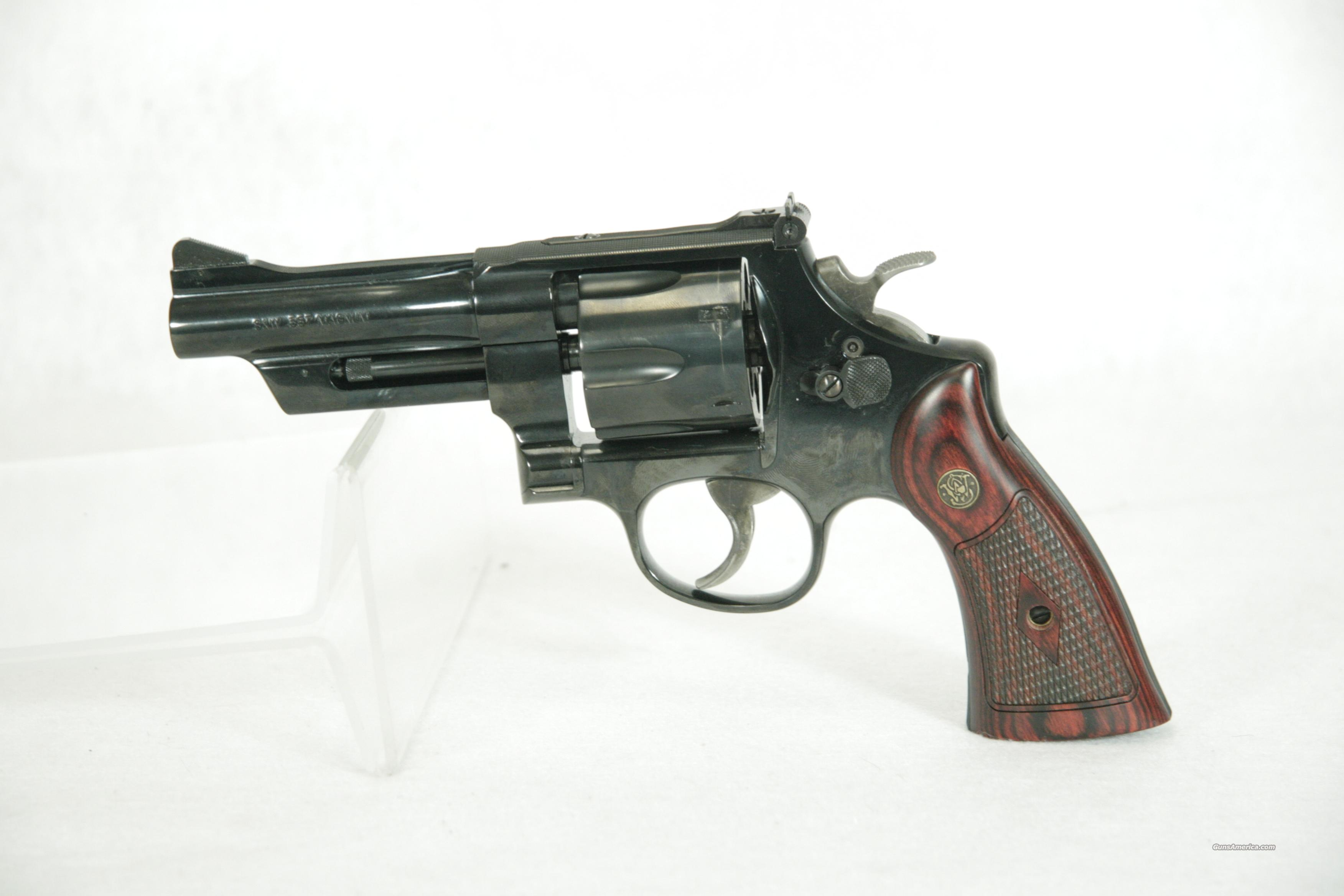 S&W 27 Classic .357mag 4in Blued  Guns > Pistols > Smith & Wesson Revolvers > Full Frame Revolver