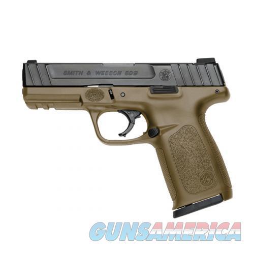 SW SD9 9mm 4in Matte Black  Guns > Pistols > Smith & Wesson Pistols - Autos > Shield