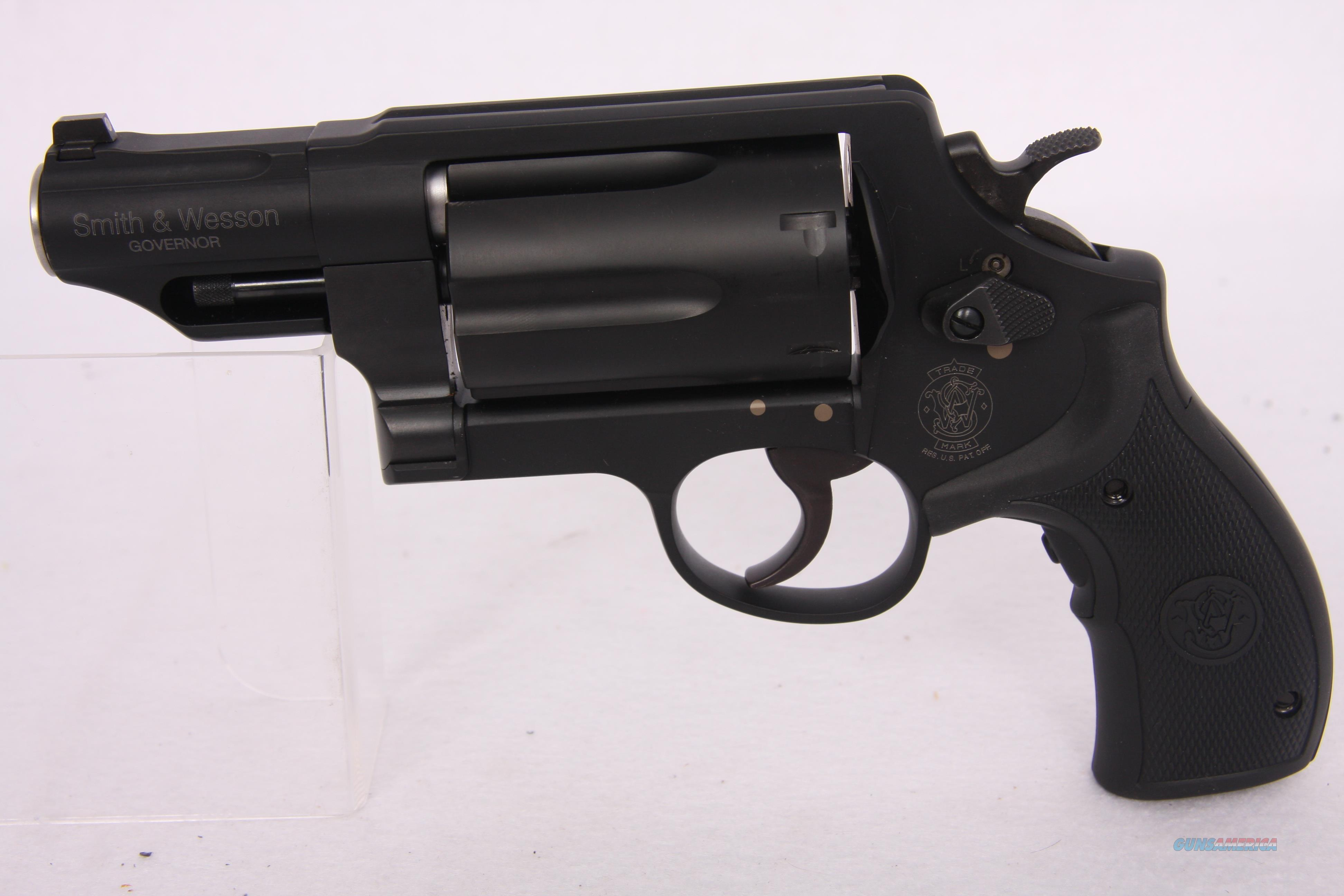 S&W Governor .45ACP/.45LC/410 with Crimson Trace Grips  Guns > Pistols > Smith & Wesson Revolvers > Full Frame Revolver